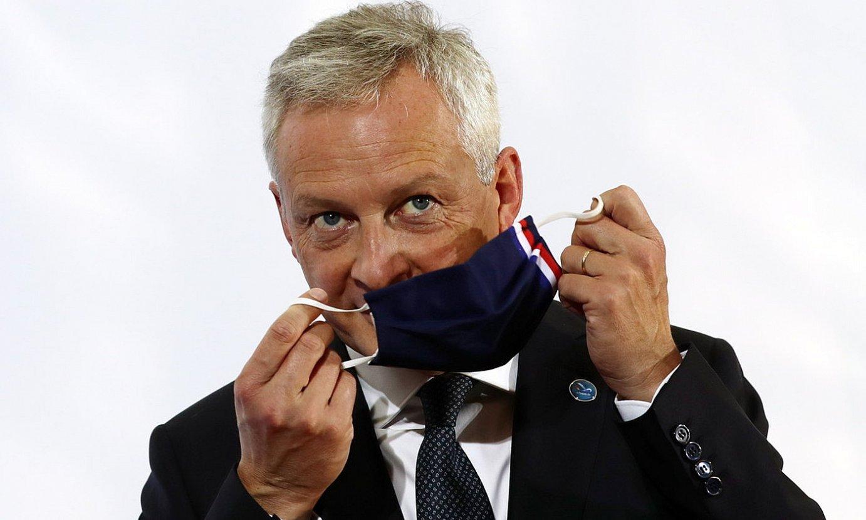 Bruno le Maire Frantziako Finantza ministroa. ©HAYOUNG JEON / EFE