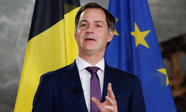 De Croo Flandriako liberala proposatu dute lehen ministro kargurako. ©S. L. / EFE