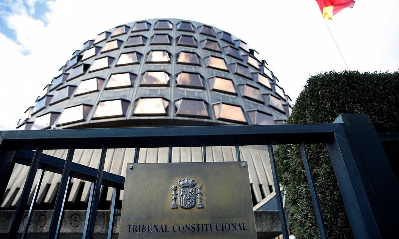Espainiako Auzitegi Konstituzionala, artxiboko irudi batean. ©JUANJO MARTIN / EFE