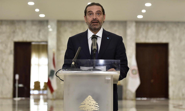 Saad Hariri, Libanoko lehen ministro berria, kargua hartzen. ©WAEL HAMZEH / EFE