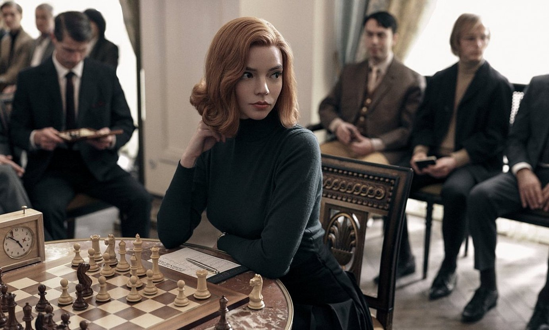 Anya Taylor-Joy aktorea, The Queen's Gambit telesaileko protagonista. ©- / EZEZAGUNA