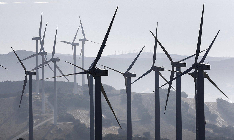 Artaxoa, Mendigorria eta Añorbe artean dagoen parke eolikoa. ©JESUS DIGES / EFE