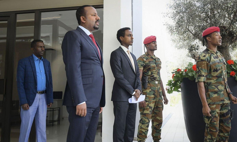 Abiy Ahmed Etiopiako lehen ministroa. ©STR/ EFE