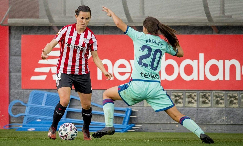 Eunate Athleticekoa Paula Levantekoa gainditu nahirik. ©ATHLETIC