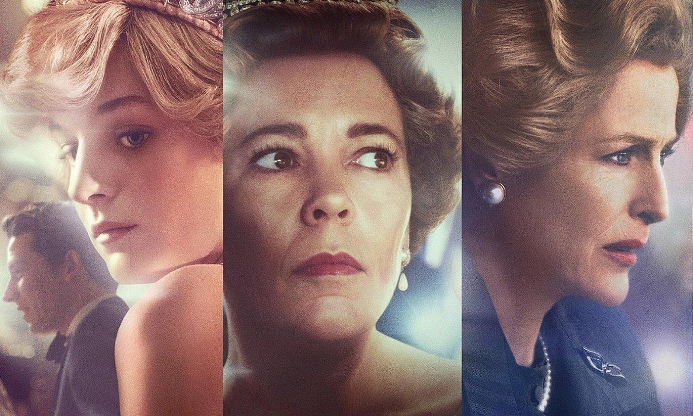 Denboraldi berrian hiru emakume dira protagonista: Galesko Diana, Elizabeth II.a eta Margaret Thatcher. ©NETFLIX