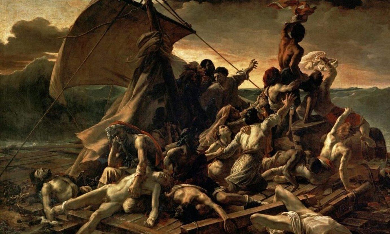 Theodore Gericaulten <em>La radeau de la M�duse</em> (M�duse ontziaren almadia) margolana (1818-1819). ©BERRIA