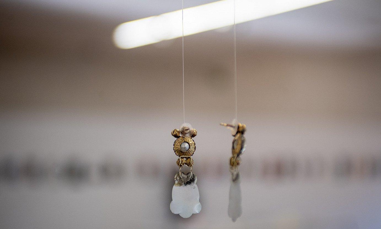 Nagore Amenabarrok Donostiako San Telmo museoan jarri duen erakusketako piezetako bat. ©JUAN CARLOS RUIZ / FOKU