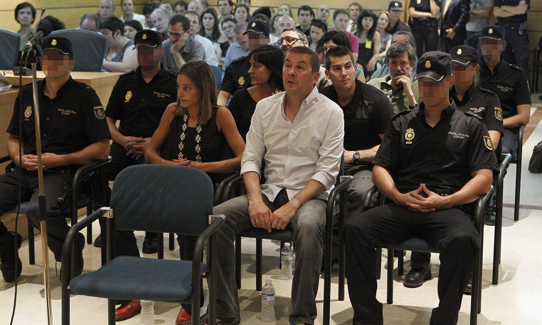 <b>Epaiketa.</b> Espainiako Auzitegi Nazionalean epaitu zituzten, 2011n. Hor eginen lukete auzia berriro. / ANGEL DIAZ / EFE