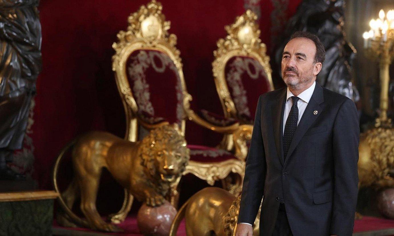 Manuel Marchena magistratua da Espainiako Auzitegi Goreneko bigarren aretoko presidentea. ©ANGEL DIAZ / EFE