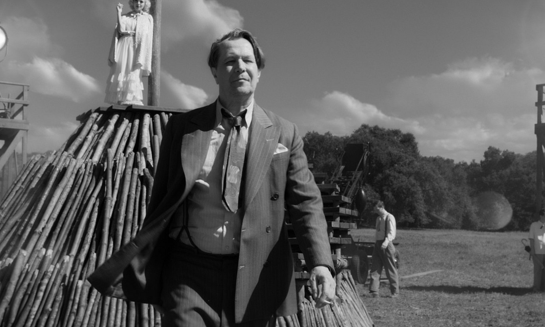 David Fincherren <em>Mank</em> filmeko irudi bat. ©NETFLIX
