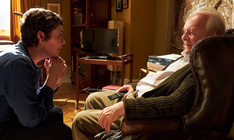 Anthony Hopkins antzezleak interpretatu du alzheimerra duen gaixoaren pertsonaia, eta Oscar saria irabazteko faboritoen artean dago. ©THE FATHER