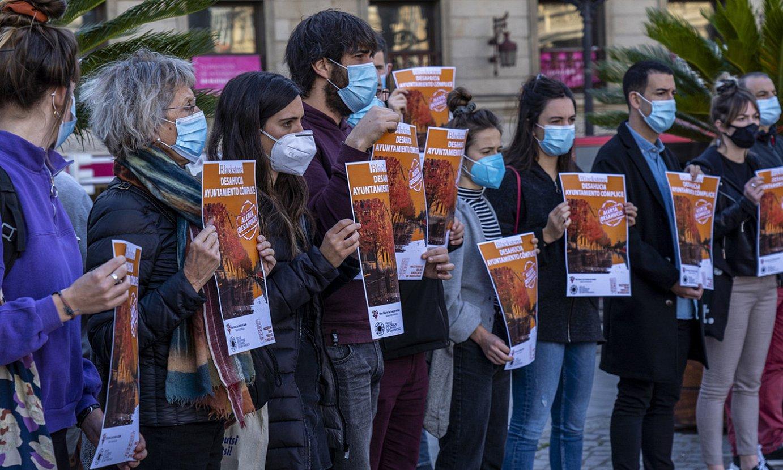 Etxegabetze baten kontrako protesta bat, Bilbon. ©MARISOLRAMIREZ / FOKU