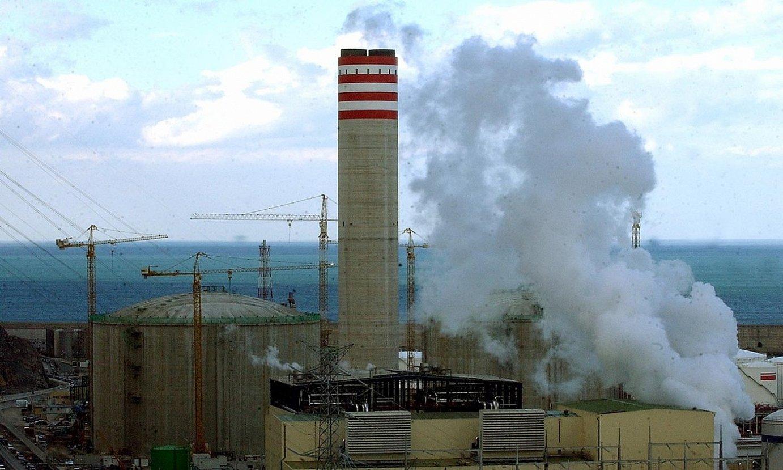 Bizkaiko Badia Elektrizitateko zentral termikoa. ©LUIS JAUREGIALTZO / FOKU