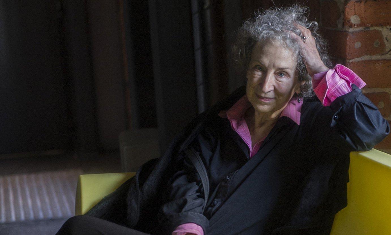 Margaret Atwood idazlea, 2013. urtean, Bilboko Gutun Zuria jaialdian. ©MONIKA DEL VALLE / FOKU