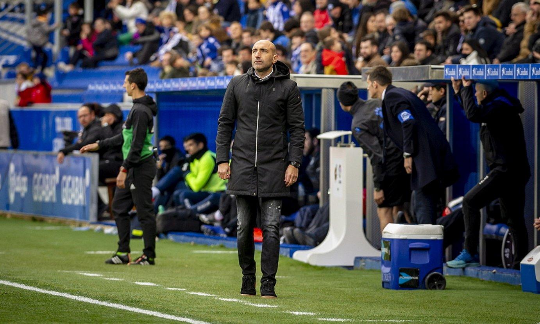 Abelardo Fernandez, Alavesek eta Leganesek 2019ko apirilean Mendizorrotzan jokatutako partidan. ©JAIZKI FONTANEDA / FOKU