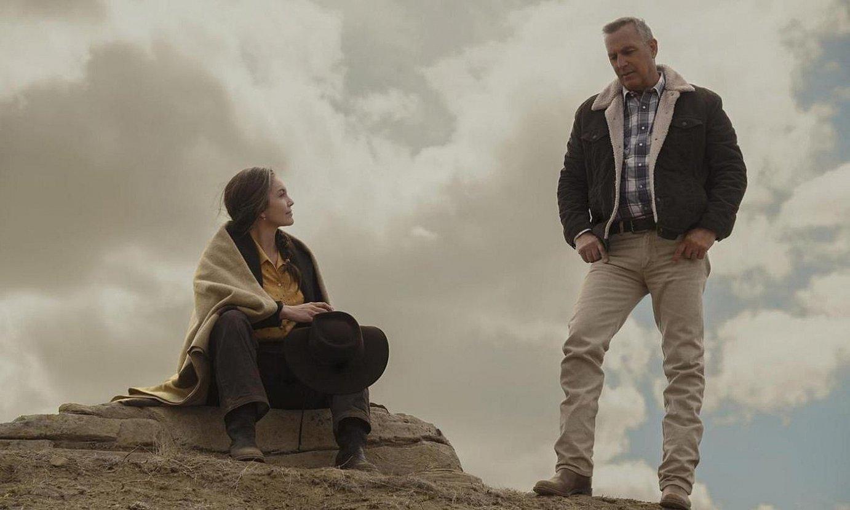Diane Lane eta Kevin Costner antzezleak arduratu dira George eta Margaret Blackledge senar-emazteak interpretatzeaz. ©LET HIM GO