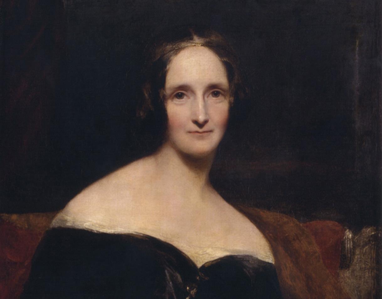 Mary Shelley idazlea, John Opie artistak ondutako erretratuan. ©BERRIA