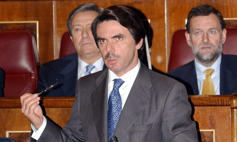 Jose Maria Aznar Espainiako Gobernuko presidente ohia, 2003an. / B. R. / EFE