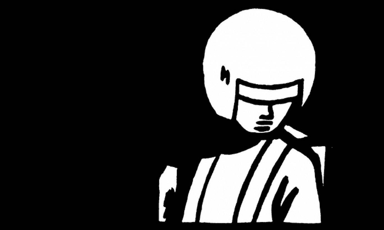 Chris Reynoldsek gehien erabili duen pertsonaia Monitor da, aurpegia sekula erakusten ez duen mutil gazte bat. ©BERRIA