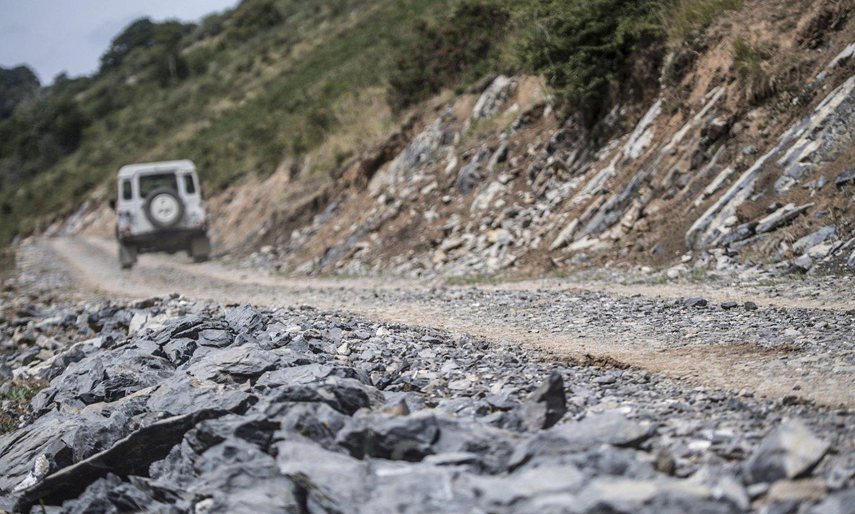 Enirio eta Igaratza arteko pista berria. ©JAGOBA MANTEROLA / FOKU