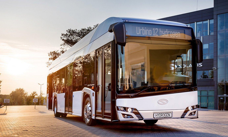 Autobusak egiten dituen CAFen Poloniako Solaris filialak hidrogenozko ehundik gora autobus saldu ditu. ©LUCASZ BERA-CAF