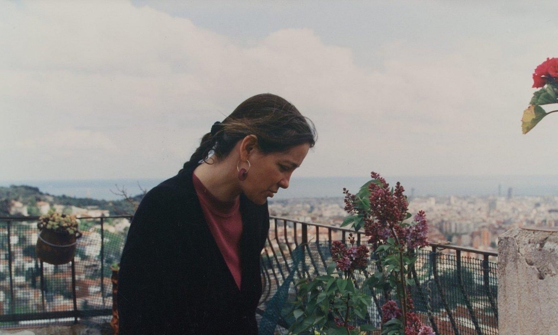 Maria Merce Marçal poeta katalan aupatua. 1994an eman zuen <em>La passi� segons Ren�e Vivien</em> (Pasioa Renee Vivienen arabera), �olerkari baten nobela� kontsideratua. ©BERRIA