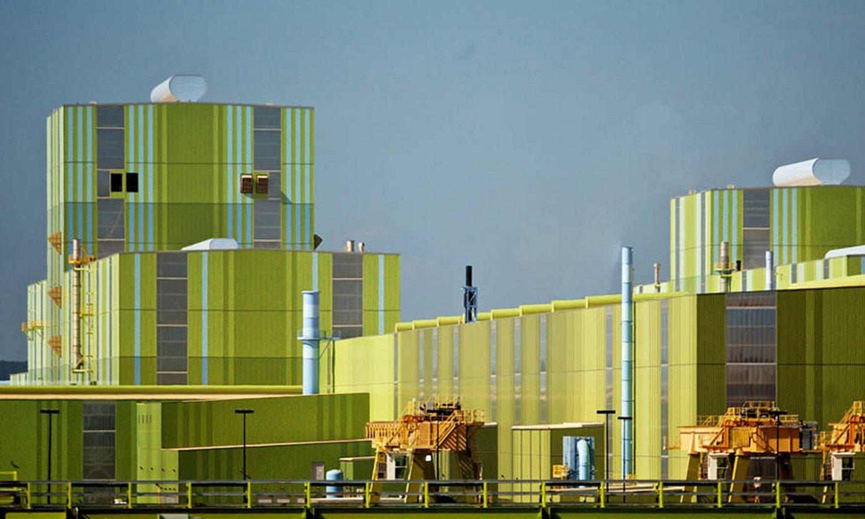 Arcelor Mittalen altzairutegi bat, AEBetan. ©SARRAILLE