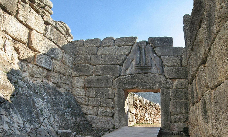 Mizenasko Lehoien Atea. Pausaniasen idatziei esker aurkitu zuen hiri hori Heinrich Schliemann arkeologoak. ©ANDREAS TREPTE