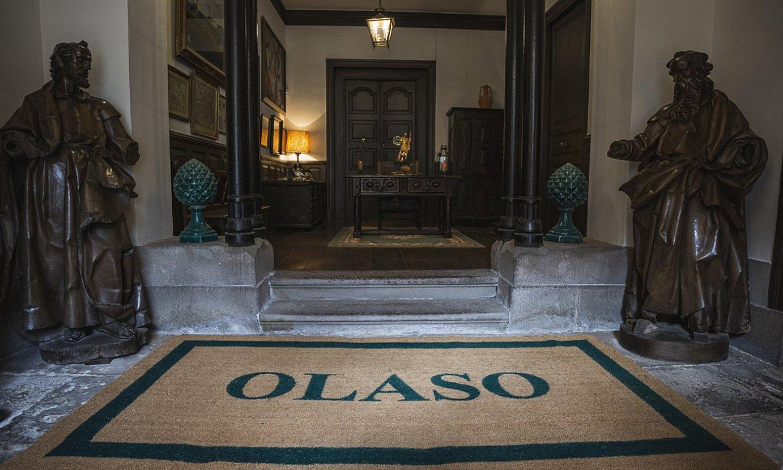 <b>Olaso dorrea. </b>Eraikinaren sarrera. ©ARITZ LOIOLA / FOKU