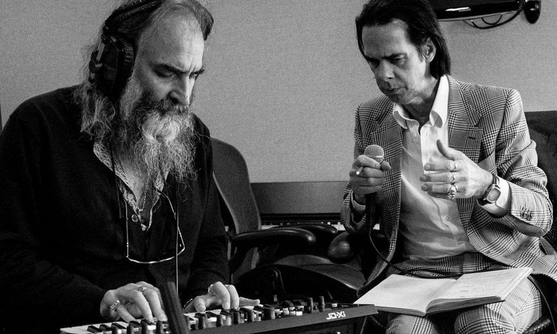 Warren Ellis eta Nick Cave, diskoaren grabazioaren une batean. ©JOEL RYAN