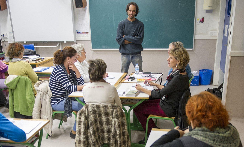 Gau eskola bateko artxiboko irudia, Bilboko Miribilla auzoan. ©MARISOL RAMIREZ / FOKU