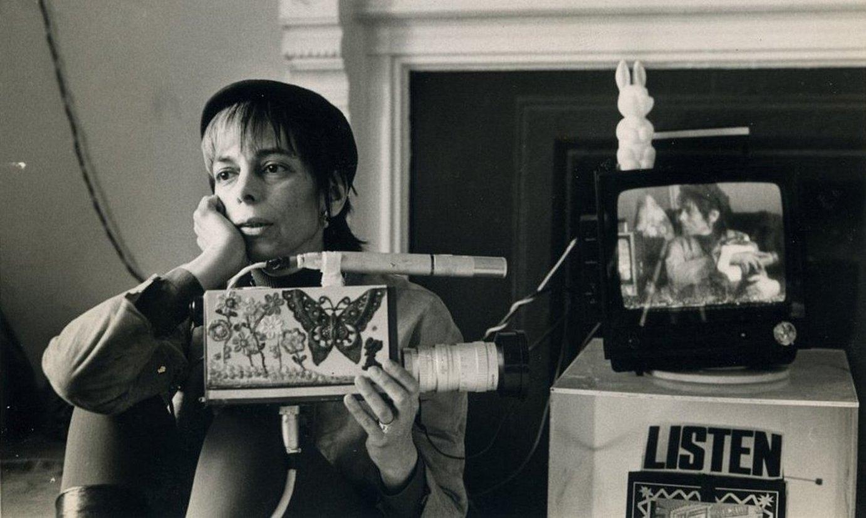 Shirley Clarke zuzendari estatubatuarra, zinema independentearen aitzindarietako bat. ©BERRIA