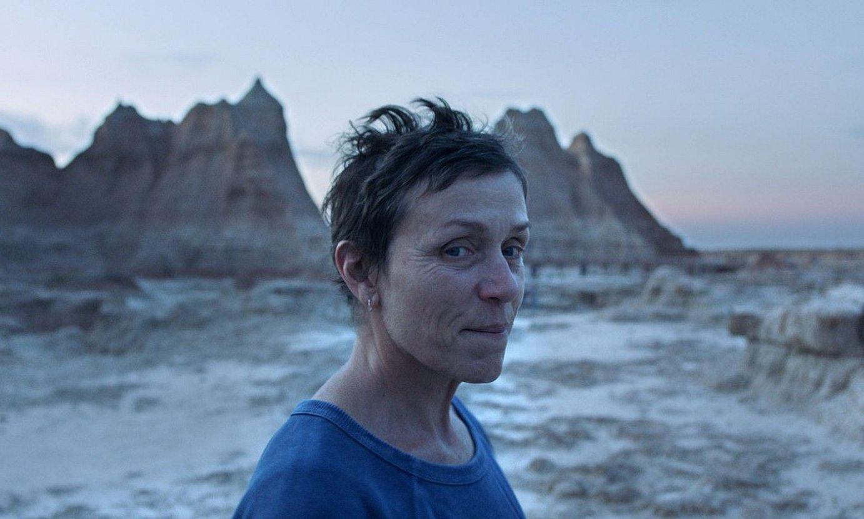Frances McDormand aktorea, <em>Nomadland</em> filmeko protagonista nagusia. ©BERRIA