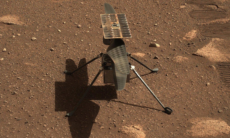 <em>Ingenuity</em>, Marten. ©NASA/JPL-CALTECH/ASU