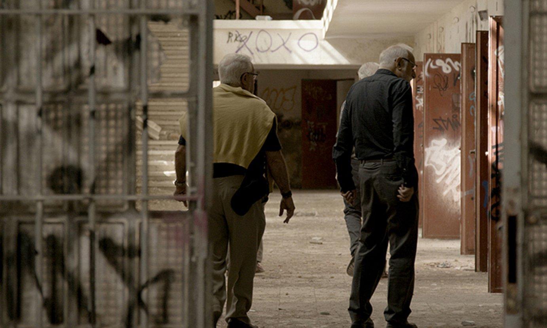 Ritxi Lizartza, David Pallares eta Oier Aranzabalek zuzendu dute <em>Apaiz kartzela</em> dokumentala. ©GIZA ESKUBIDEEN ZINEMALDIA