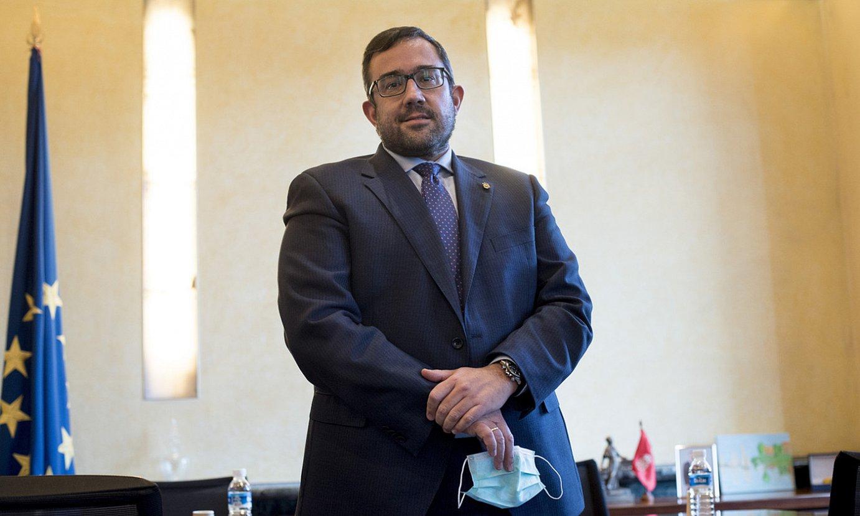Javier Remirez Nafarroako Gobernuko bozeramailea. ©IÑIGO URIZ / FOKU