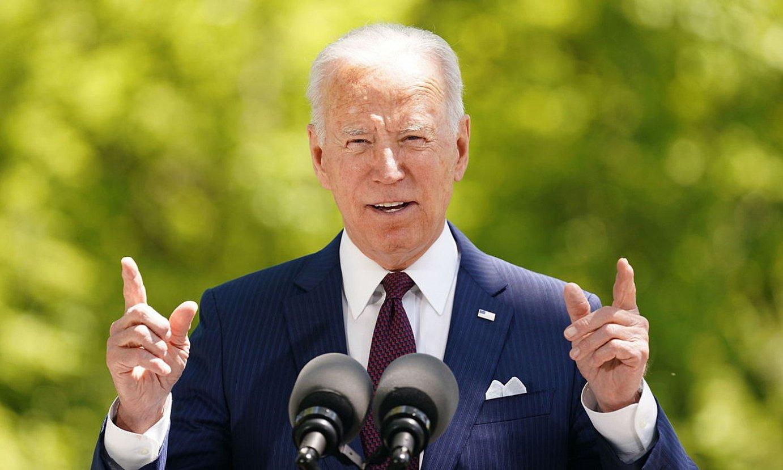 Joe Biden, AEBetako presidentea. ©STEFANI REYNOLDS / EFE