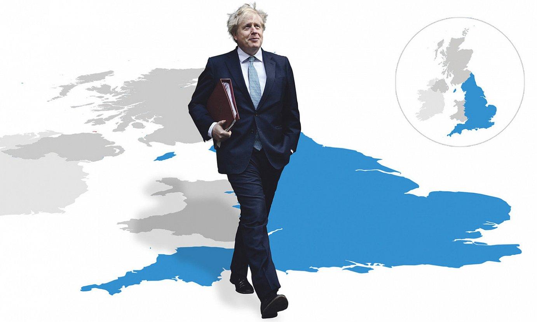 Boris Johnson Erresuma Batuko lehen ministroak eskumenen zentralizazio prozesu bat abiatu du <em>brexit</em>-aren ostean. ©BERRIA
