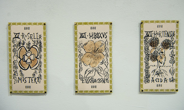 Bilboko La Tallerren ikusgai dagoen erakusketako bi pieza. ©MONICA DEL VALLE / FOKU