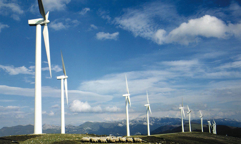 Elgeako parke eolikoa (Araba), artxiboko irudi batean. ©BERRIA