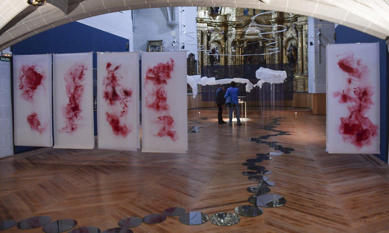 Gentz del Valleren obra, Iruñean, Nafarroako Museoko kaperan. ©IDOIA ZABALETA / FOKU