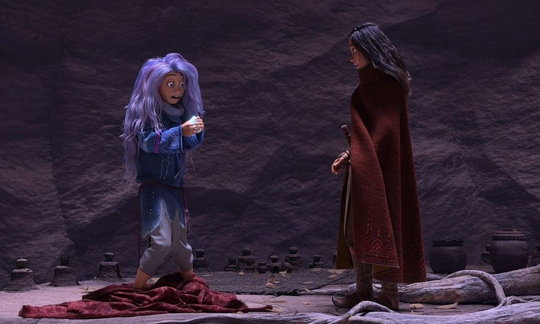 <em>Raya and the Last Dragon</em> animaziozko filma (2021) katalanez ikus daiteke Disney Plusen. ©WALT DISNEY