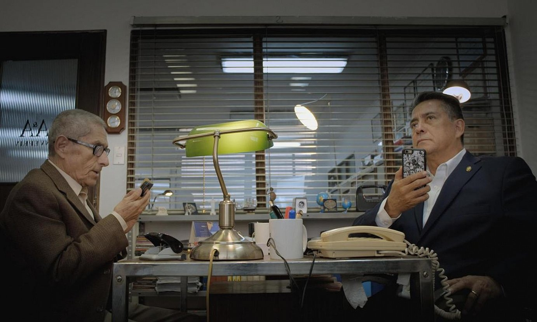 Maite Alberdi txiletarraren <em>El agente topo</em> dokumentaleko irudi bat. Fipadoc-eko nazioarteko lanen sariketarako hautatu dute. ©FIPADOC