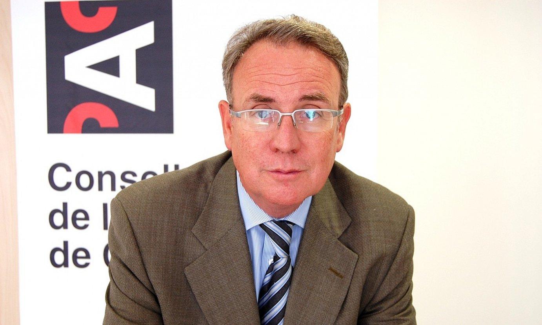Roger Loppacher Kataluniako Ikus-entzunezko Kontseiluko presidentea, artxiboko irudi batean. ©CAC