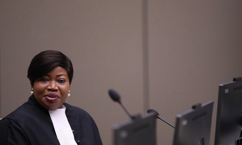 Fatou Bensouda, Nazioarteko Zigor Auzitegiko fiskal nagusia. ©EVA PLEVIER / EFE