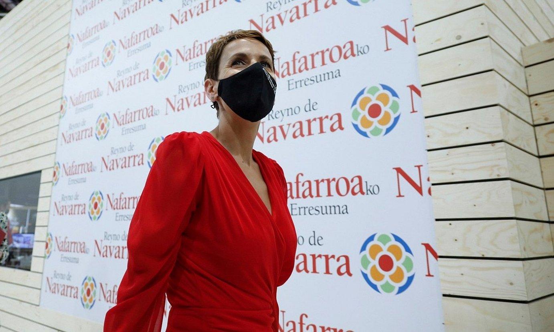 Maria Txibite, maiatzean, Fitur azokan. ©DAVID FERNANDEZ / EFE