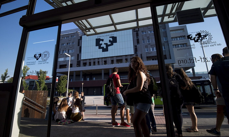 EHUren Leioako campusa, artxiboko irudi batean. ©LUIS JAUREGIALTZO / FOKU