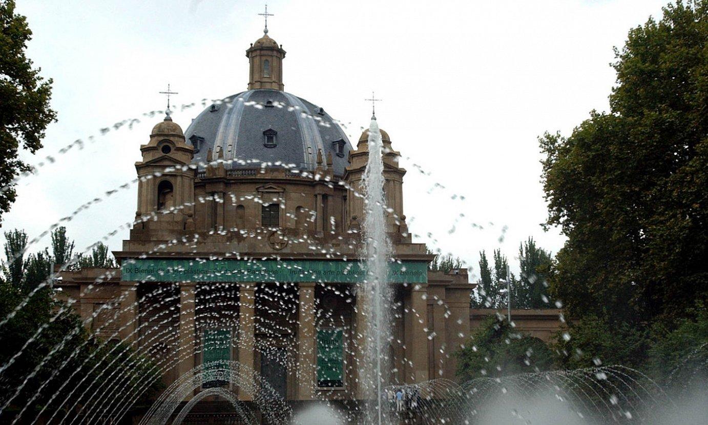 Erorien Monumentua Iruñe erdialdean dago. Kolpisten aldeko mausoleoa da. ©JAGOBA MANTEROLA / FOKU