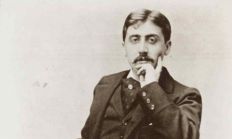 Marcel Proust idazlea, gaztea zeneko argazki batean. ©BERRIA