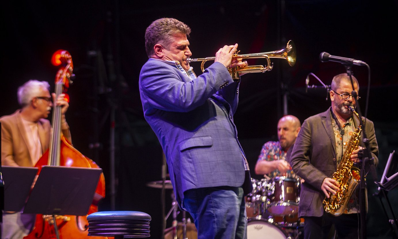 Atlantic Bridge jazz taldea, Gasteizko Iradier Arenan. ©JAIZKI FONTANEDA / FOKU